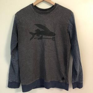 Patagonia Rare Flying Fish Crew Neck Pullover S